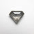 0.82ct 7.63x6.08x2.57mm Shield Rosecut 18400-05