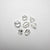 7pcs 1.22cttw 5.05-3.09mm Mixed Shape Geometric Melee 18401-01