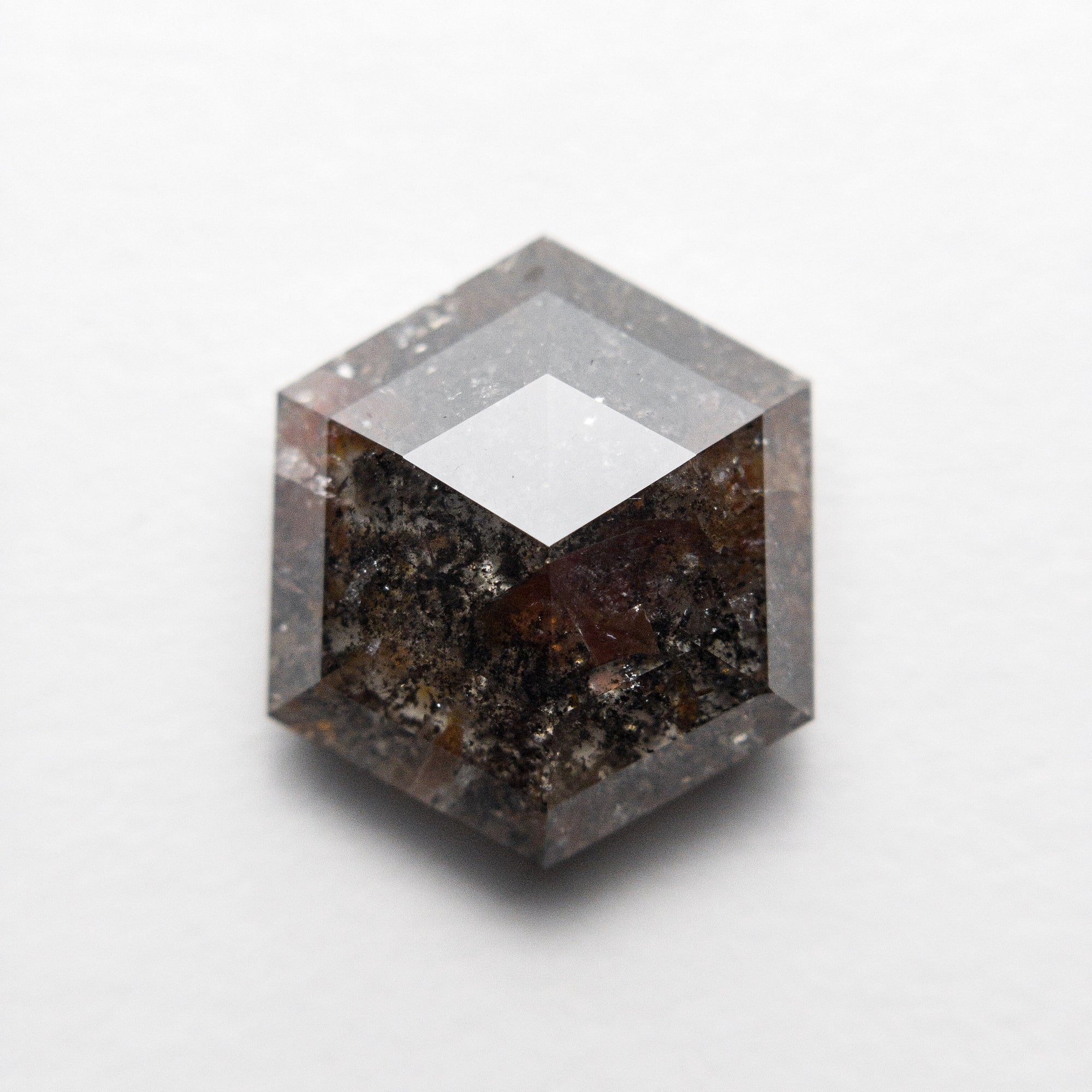4.02ct 11.39x9.97x4.18mm Hexagon Rosecut 18407-02