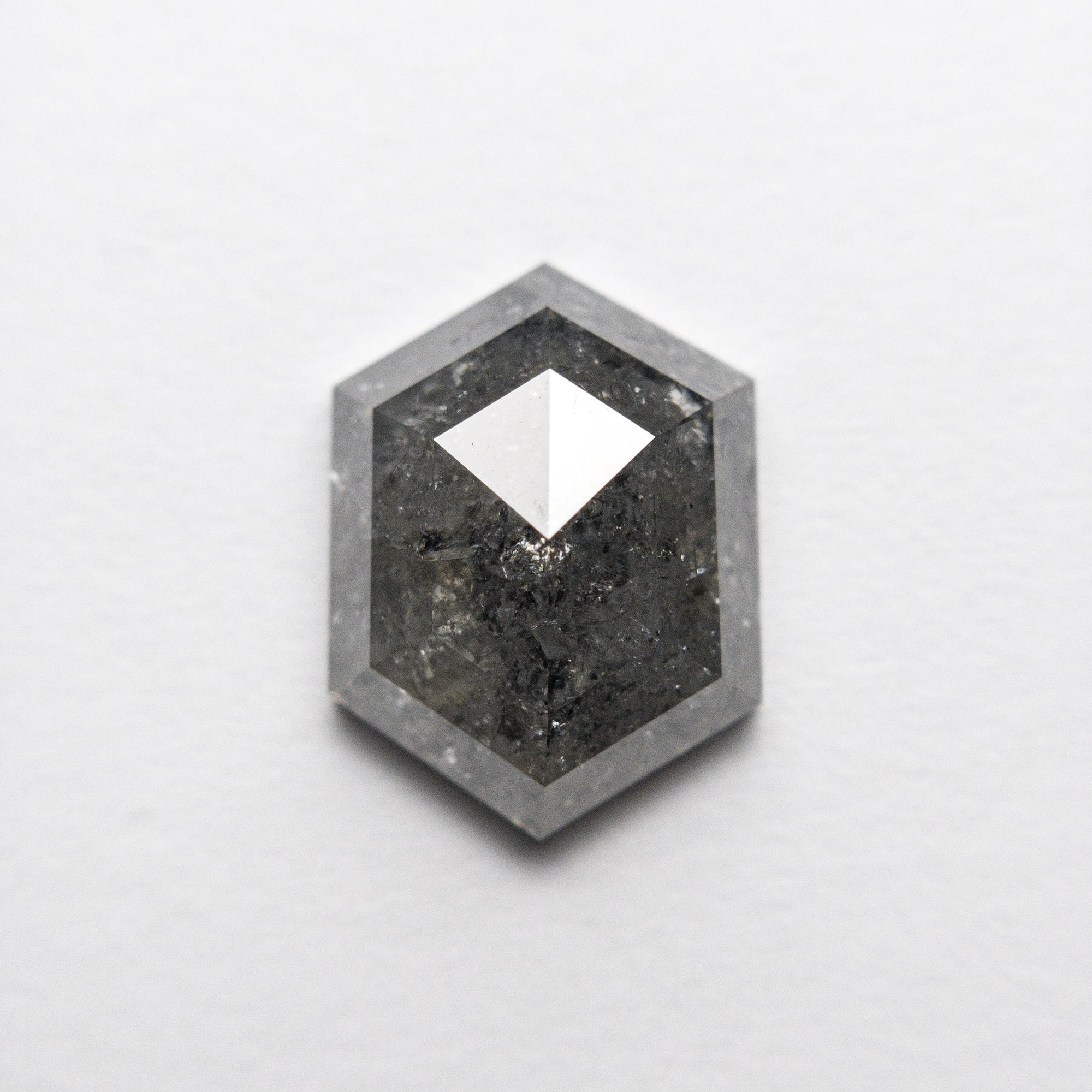 2.77ct 10.63x7.97x3.91mm Hexagon Rosecut 18407-04