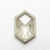 3.48ct 12.29x8.26x3.91mm Hexagon Rosecut 18455-01