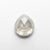 2.16ct 8.35x7.77x4.30mm Pear Double Cut 18455-03