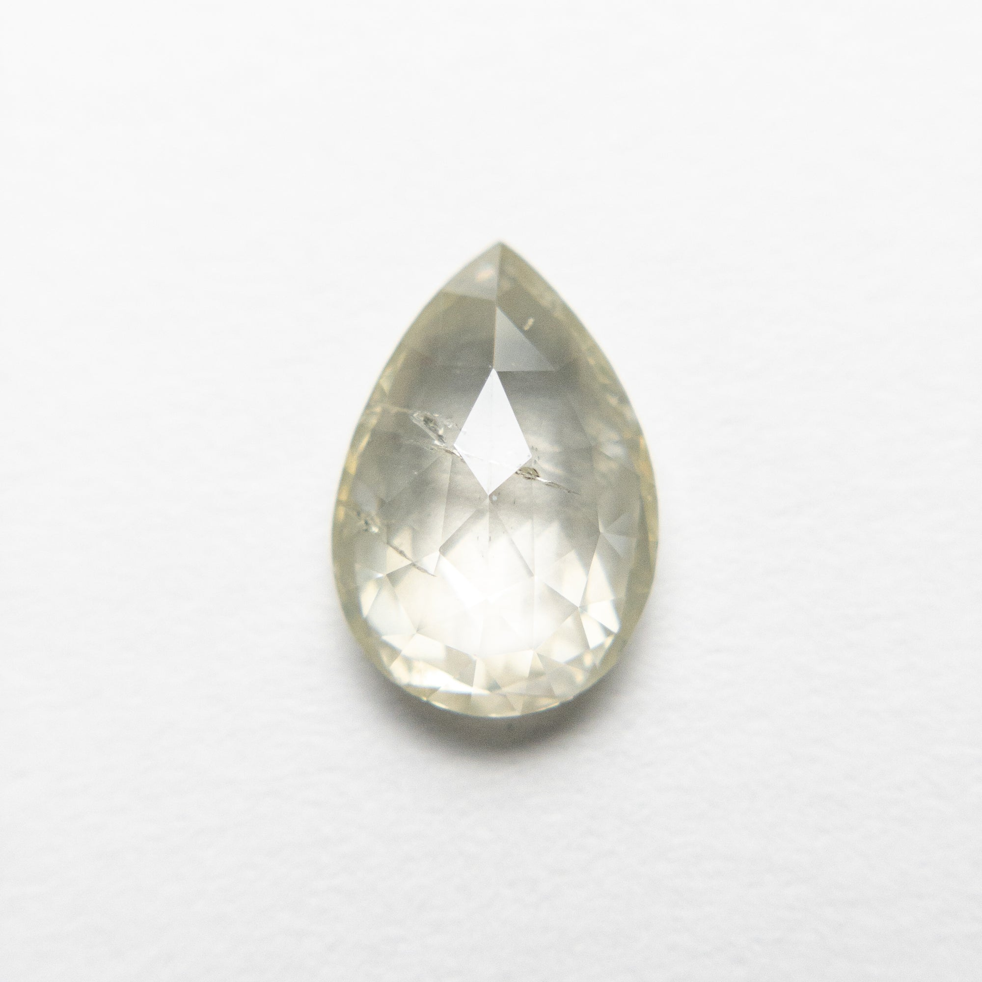 1.26ct 9.29x6.25x2.16mm Pear Rosecut 18455-04