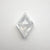 1.09ct 8.37x5.98x3.46mm Kite Rosecut 18486-06