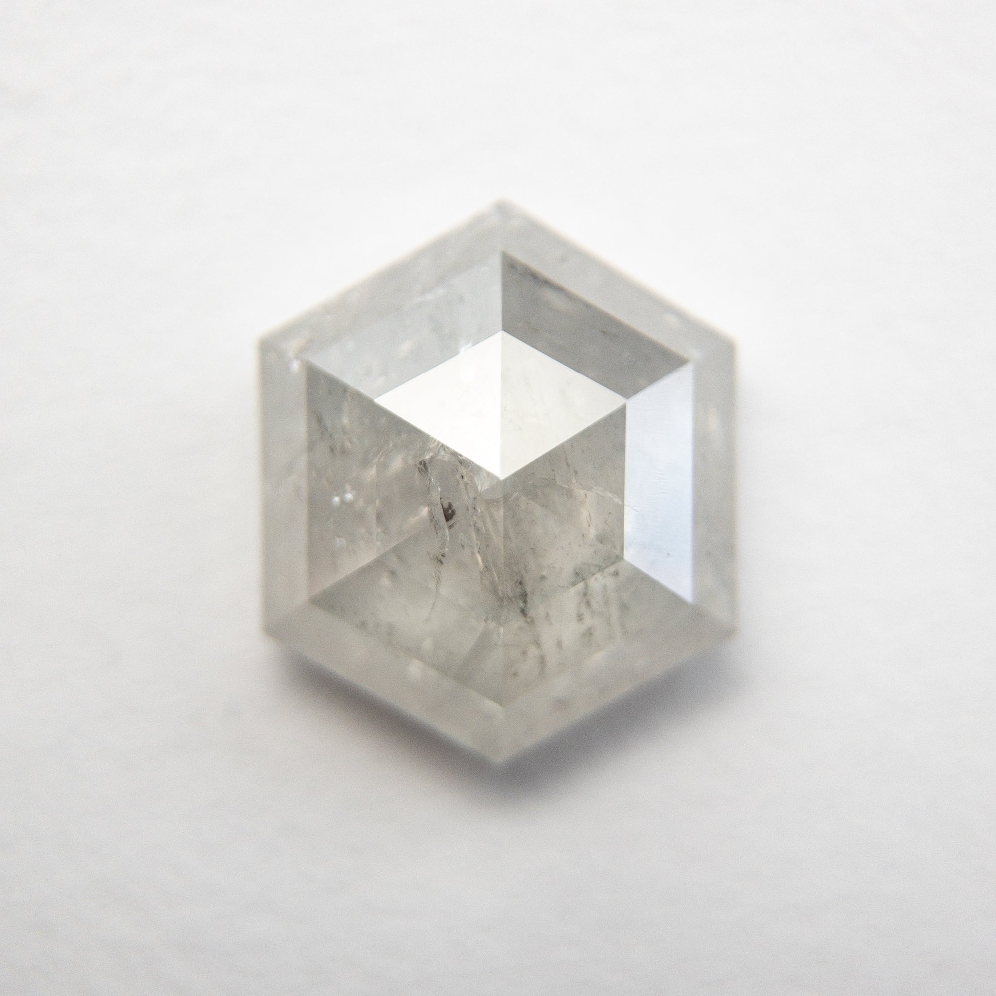 2.26ct 9.34x7.91x3.65mm Hexagon Rosecut 18491-12
