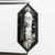 4.11ct 15.89x6.62x3.75mm Hexagon Rosecut 18505-09