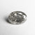 2.34ct 9.91x7.18x5.10mm Salt and Pepper Oval Brilliant 18509-01
