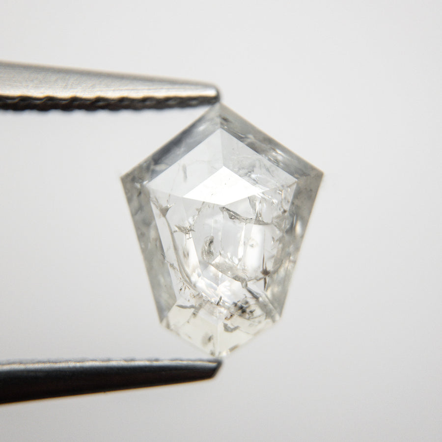 1.68ct 9.69x7.68x2.92mm Shield Rosecut 18530-09