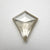 1.48ct 10.79x9.11x2.65mm Kite Rosecut 18530-11