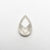 0.88ct 7.82x5.12x2.51mm Pear Rosecut 18550-13