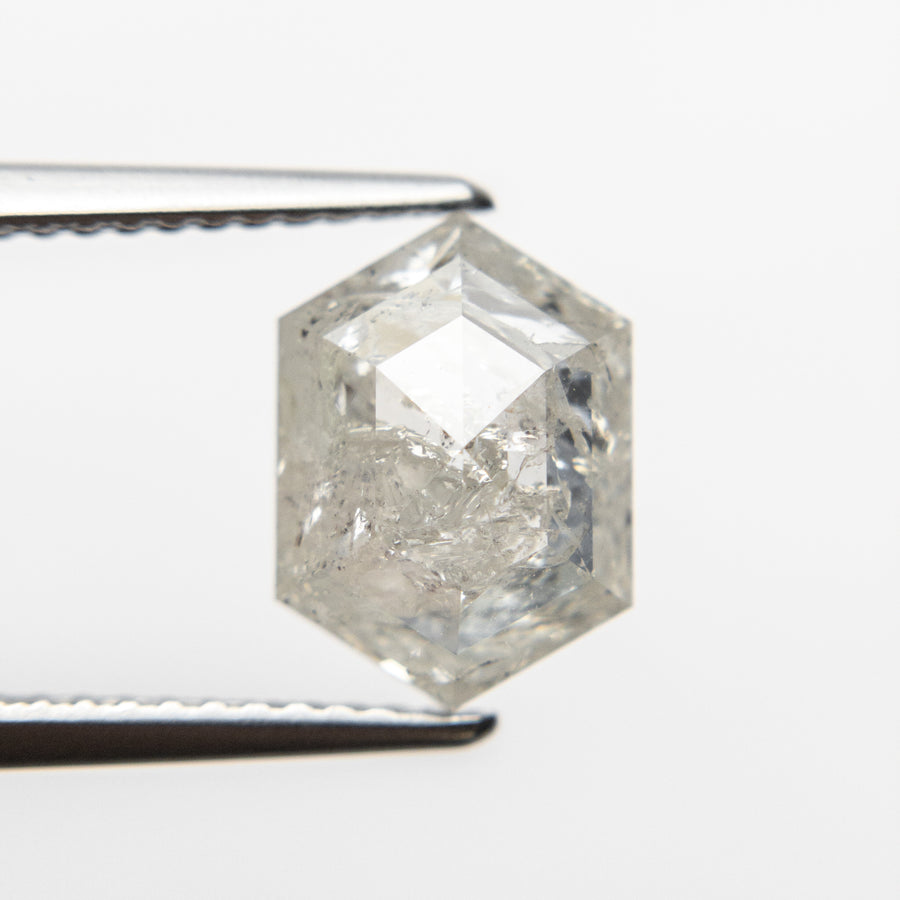 3.01ct 10.36x7.44x4.78mm Hexagon Double Cut 18553-09