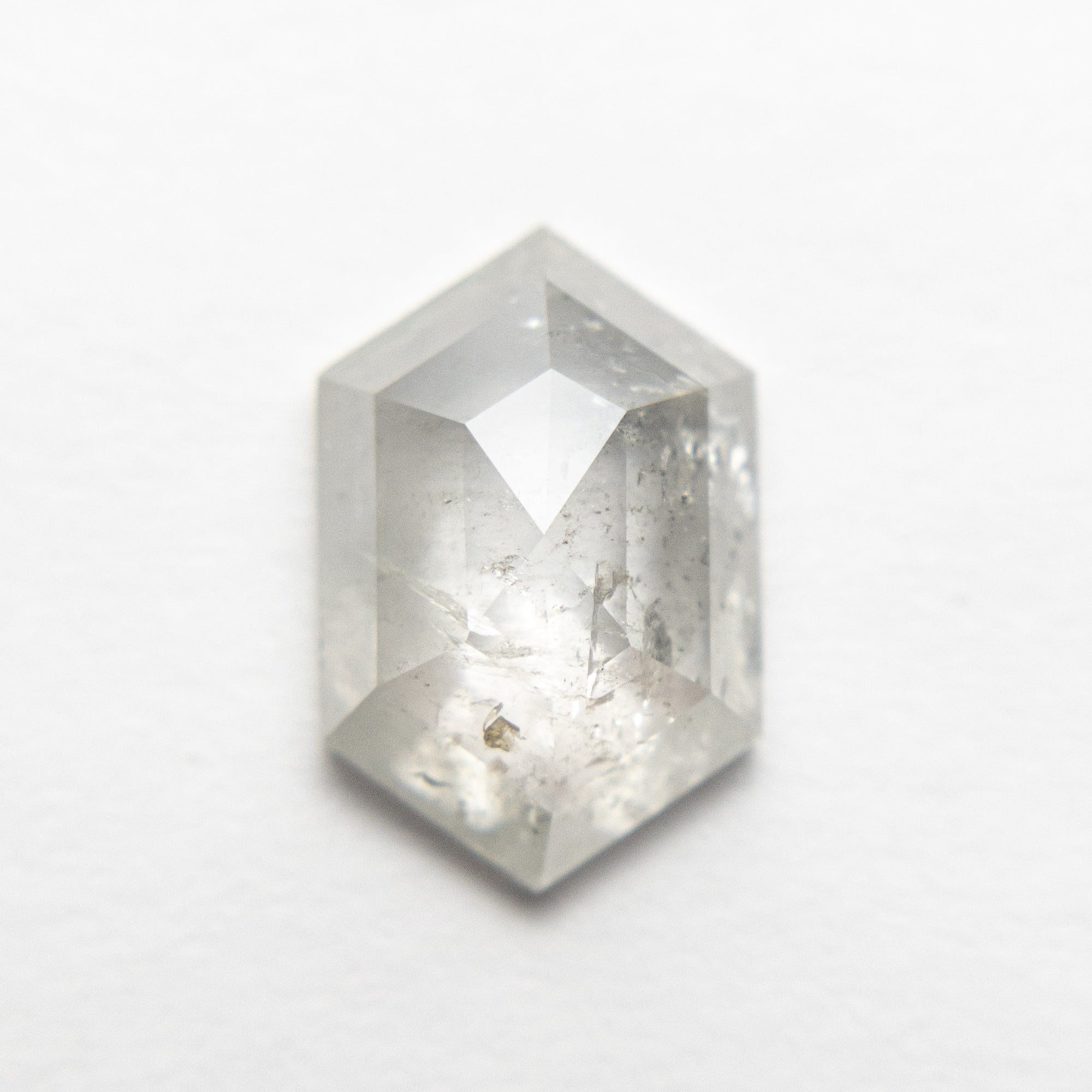 2.11ct 10.67x7.06x3.24mm Hexagon Rosecut 18553-11
