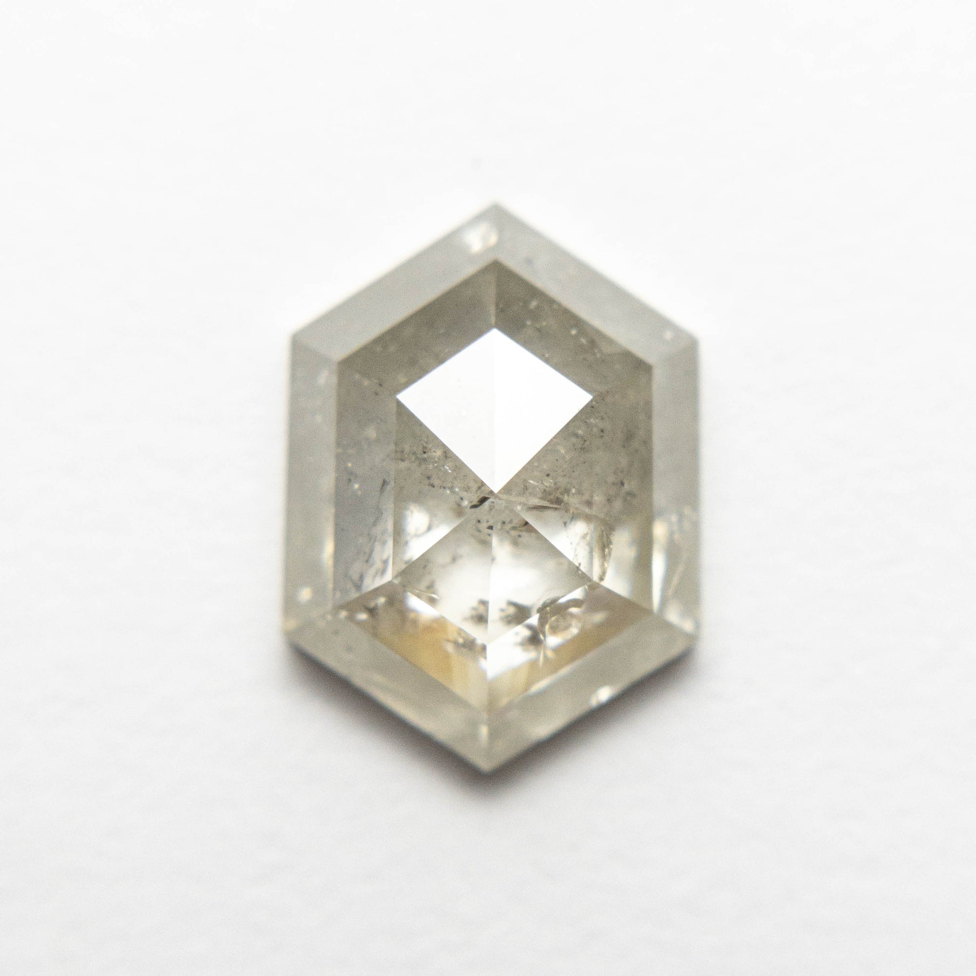 2.65ct 10.81x7.95x3.78mm Hexagon Rosecut 18553-16