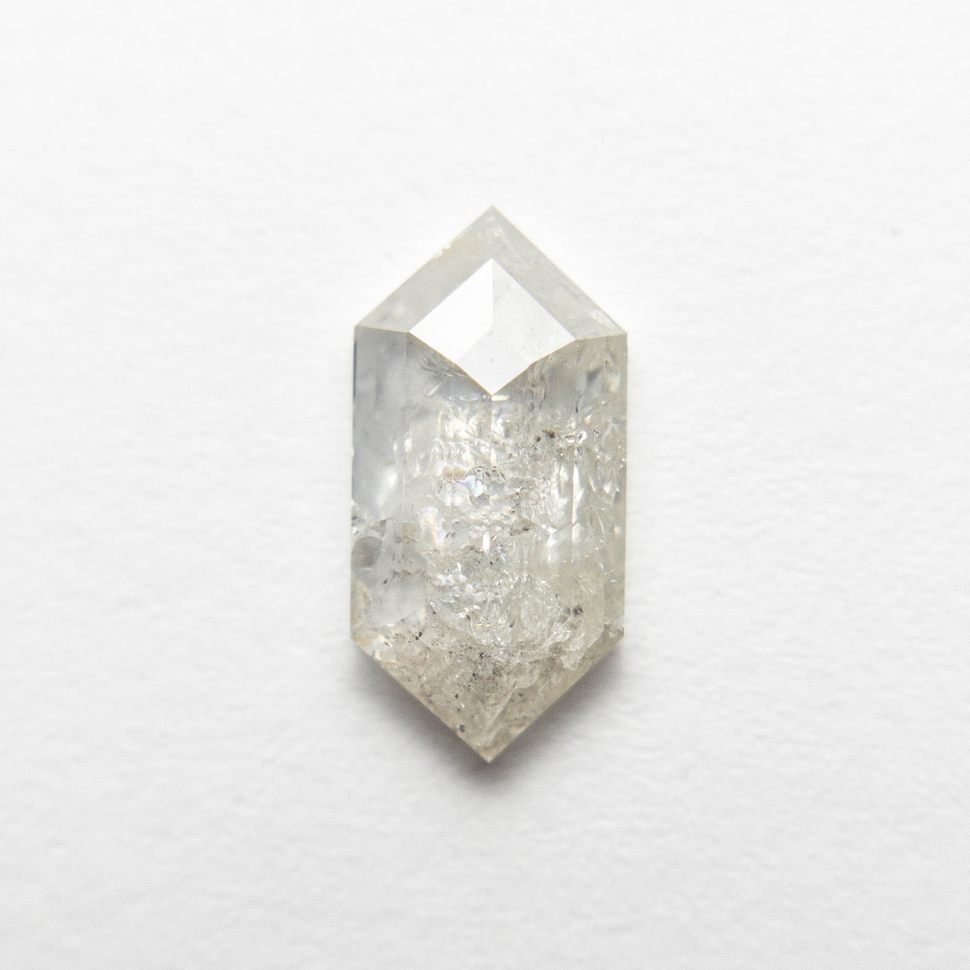 1.27ct 10.40x5.14x2.43mm Hexagon Rosecut 18553-19