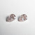 2pc 0.62cttw 5.21x3.51x2.33mm Argyle Fancy Pink Brownish Pear Brilliant Matching Pair 18685-01