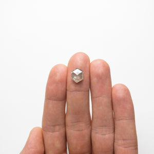 3.75ct 10.95x8.55x4.13mm Hexagon Rosecut 18789-03