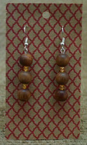 Earrings - kauri