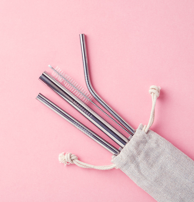 3D Laser Gifts Reusable Straws