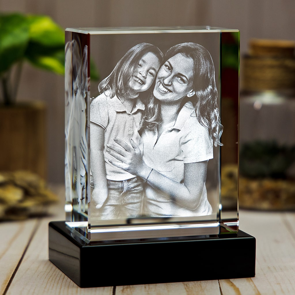3D Laser Gifts Mother's Day Crystal