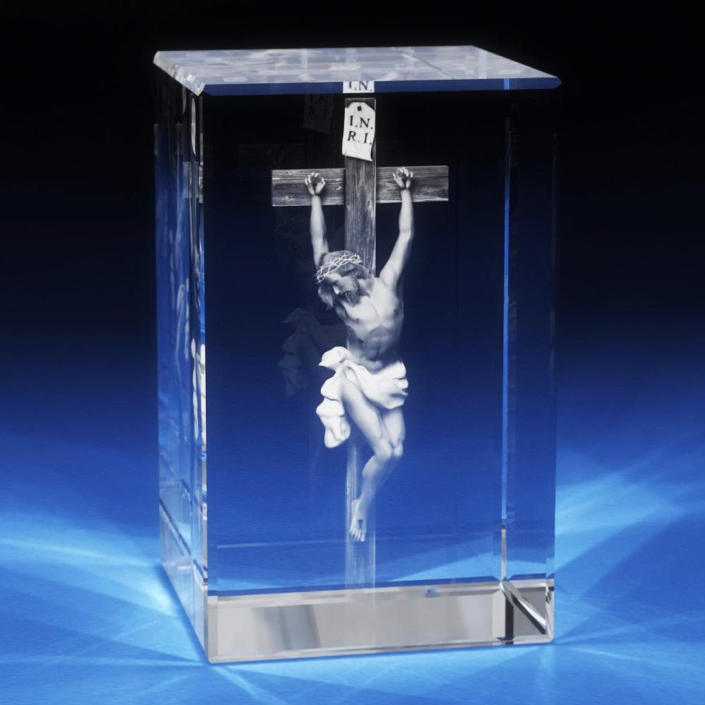 3D Christian Cross [Pre-Designed] | 3D Laser Gifts