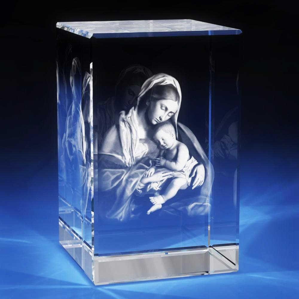 3D Virgin Mary [Pre-Designed] | 3D Laser Gifts