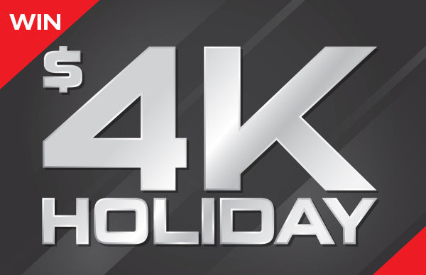 Win a $4k Holiday