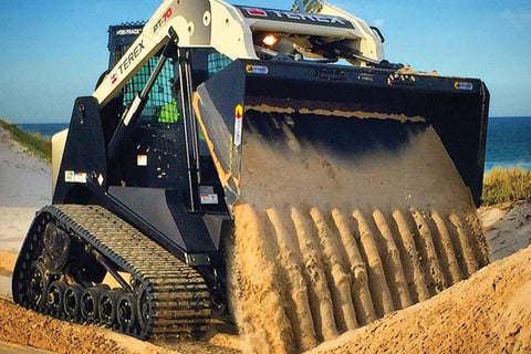 The Types of Skid Steer Buckets and Their Uses