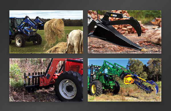 Himac Ag Loader Attachments