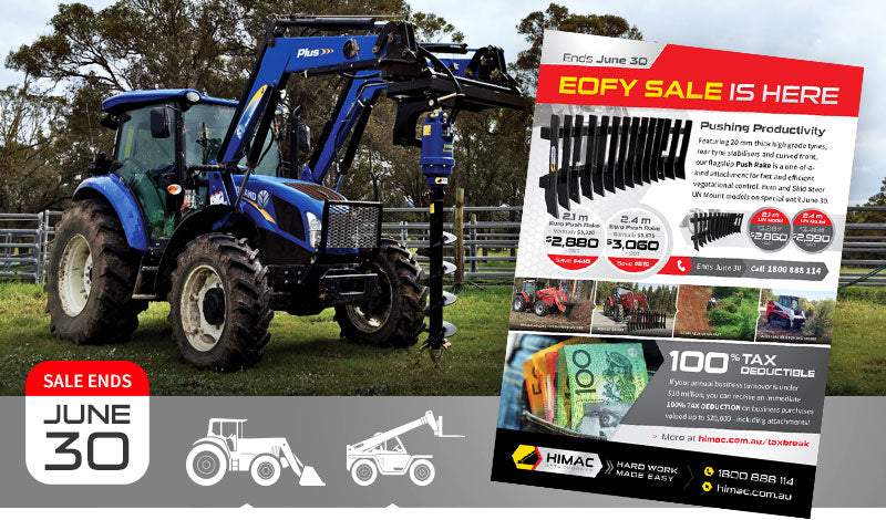 Himac Ag Loader and Telehandler Attachments