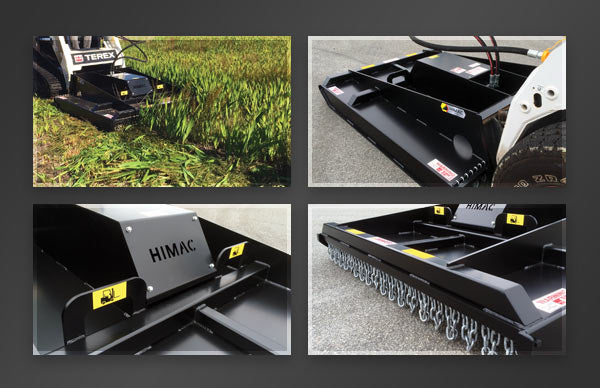 Himac Skid Steer Slasher Features
