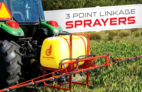 3 Point Linkage Sprayer special pricing from Himac Attachments
