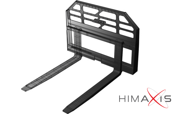 Skid Steer Forks from Himac Attachments