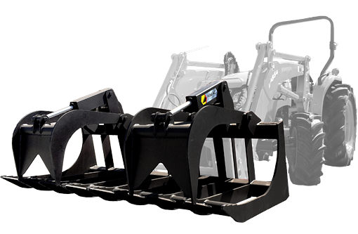 Tractor Loader Buckets and Tractor Loader Attachments from Himac