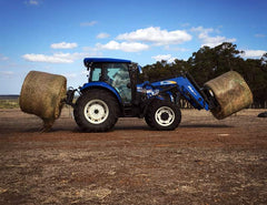 Use in conjunction with Himac Hay Forks for added efficiency