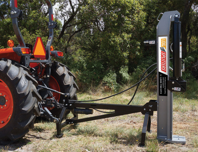 3PL Log Splitter can be operated vertically