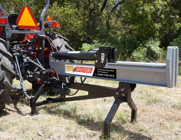 3PL Log Splitter can be operated horizontally