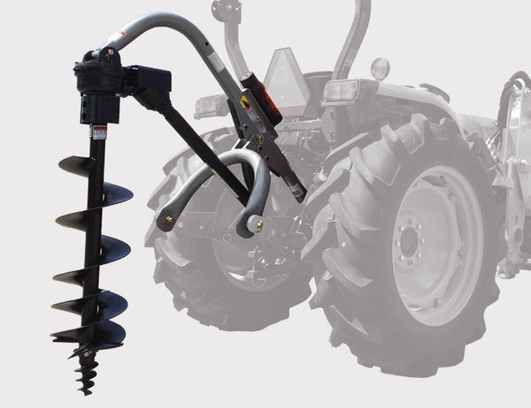 Post Hole Digger for Three Point Linkage Tractors