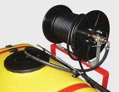 Optional 50 metre hose reel for your Himac Linkage Sprayer