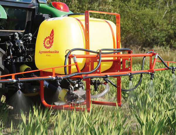 3PL Sprayer featuring Lechler anti-drip diaphragm nozzles