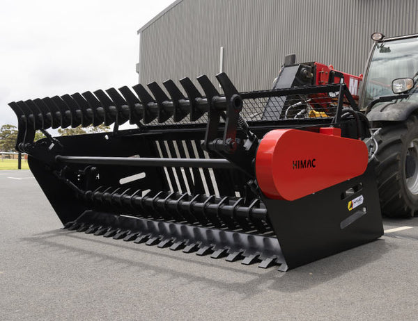 Himac Rock Picker with an impressive load capacity of 2350kg