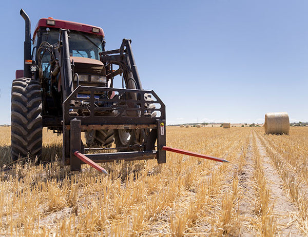Turn your Pallet Forks into Hay Forks with our Forks+ Range