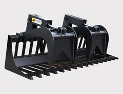 Optional heavy duty dual grapple