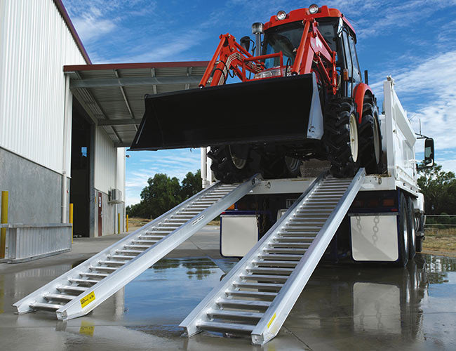 Loading Ramps from Himac - also suited to Tractor Loaders
