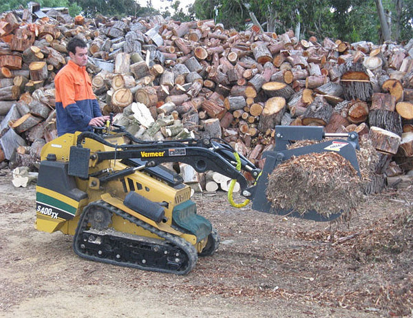 Himac Brush Root Grapple - get the job done quickly and efficiently