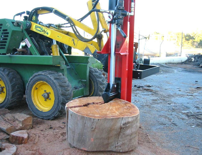 Himac Log Splitter - designed for Mini Loaders