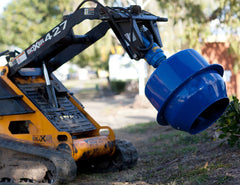 For quick and easy cement mixing on site with your Mini Loader