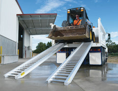Himac Loading Ramps designed for Skid Steers / Track Loaders