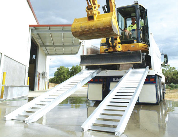 Himac Loading Ramps - for easy loading and unloading of Excavators