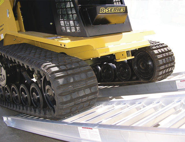 Loading Ramps from Himac - for easy transportation of Track Machines