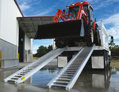 Himac Loading Ramps also suited to Tractor Loaders